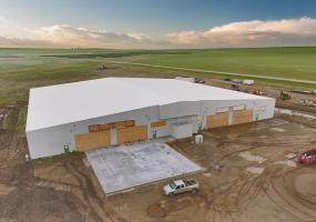 Lucky Lake Facility, for sale, RM CANAAN, industrial, processing,  lab, washdown, security fence, security camera, state-of-the-art, 21,78 acres, Lucky Lake