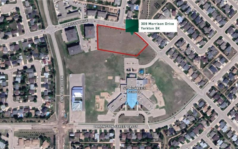 309 Morrison Dr, Yorkton SK, development land, for sale, land for sale 309 Morrison Drive, Yorkton, 1.51 acres,