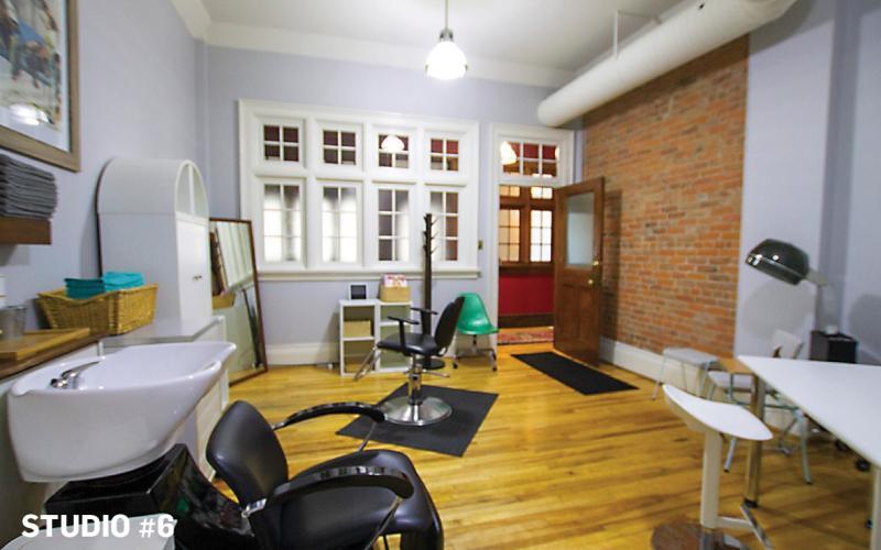 267 3rd Ave South for Lease, studio, hair salon, yoga, dentist, 330 SF, Saskatoon sk, office, retail, Heritage building