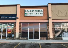 Retail for sale, east Crossing mall, Kindersley SK, retail, for lease, 705 11th Ave East in Kindersley SK, 1080 SF
