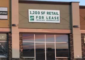 Retail for sale, east Crossing mall, Kindersley SK, retail, for lease, 705 11th Ave East in Kindersley SK, 1200 SF