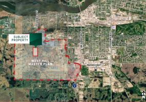 land for sale, residential, 16th Ave West, Prince Albert, SK, West Hill master plan, prime high density, 28th St W, Future Urban Development, 28.66 acres, for sale, land