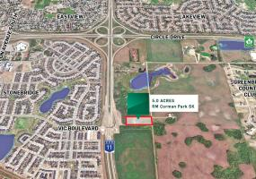 Highway 11 south, saskatoon sk, corman Park, development land, 5 acres