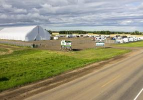 Land For Lease Chappel Dr In 1625 Chappel Dr, Saskatoon, SK, industrial, land, RV, storage, for lease, coverall, compound, rentals, semi-trailer