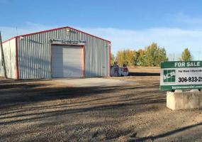 Industrial For Sale Railway Ave In 970 Railway Ave, Burstall, SK, 970 Railway Avenue, industrial, warehouse, 2.35 Acres, 4800 SF