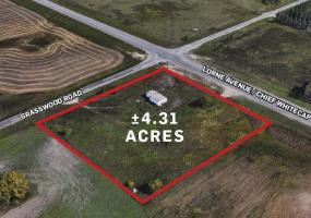 Land For Lease Lorne Ave In 4750 Lorne Ave, RM of Corman Park, SK, 4750 Lorne Avenue 4.31 acres, land, 2000 SF