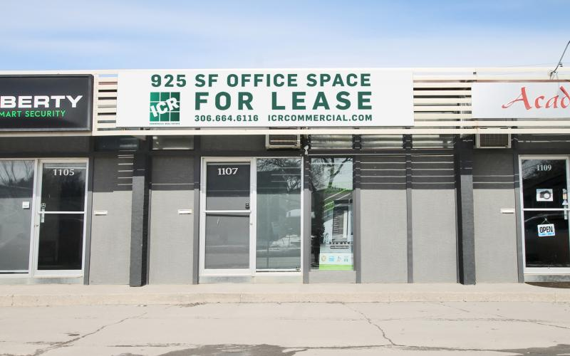 Office For Lease 8th St E In 1107 8th St E, Saskatoon, SK, 1101 8th Street East, 925 SF, office, retail