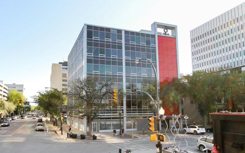 Office For Lease 21st St E In 402 21st St E, Saskatoon, SK, office, retail, Obasa Tower, 402 21st Street East, 1070 SF