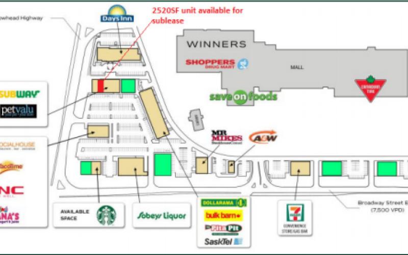 275 Broadway St E, Yorkton, SK, ,Retail,For Lease,Broadway St E,1707