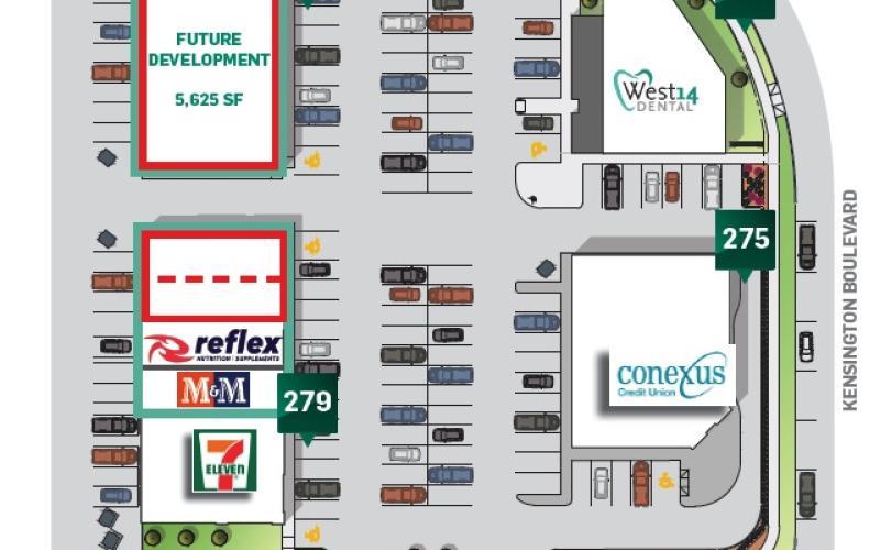 Retail For Lease Kensington Blvd In 281 Kensington Blvd, Saskatoon, SK, 281 Kensington Boulevard, Kensington Plaza