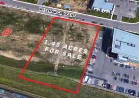 Land For Sale Wellman Cr In 209 Wellman Cr, Saskatoon, SK, 209 Wellman Crescent, 1.45 acres, business park
