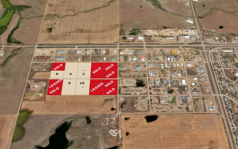 Land For Sale 14th St In 14th St, Kindersley, SK, Macnash Industrial Park, land for sale, land for lease, 14th Street