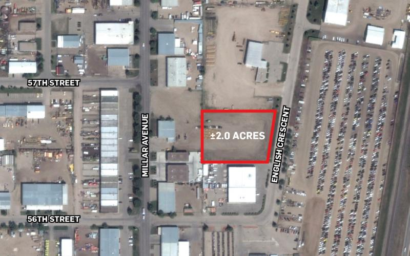 111 English Cr, saskatoon, SK, ,Land,For Sale,English Cr,1952, 2.0 Acres, 111 English Crescent, Industrial, IL1, Industrial land